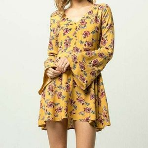 New - The DAISY Floral Button Up Dress